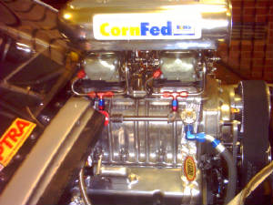 Blown 355 Chevy on E85